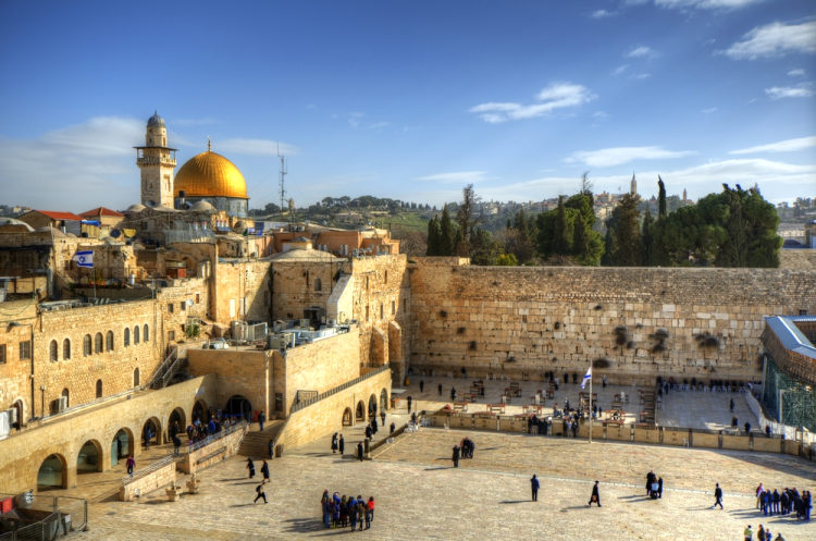 Zeď nářků, Jeruzalém
